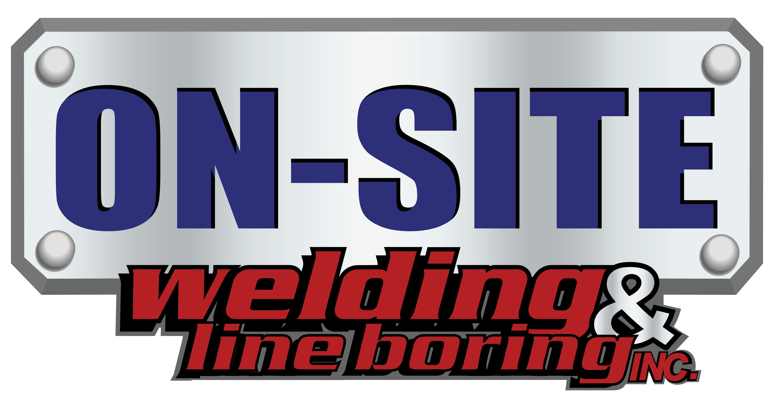On-Site Welding Logo
